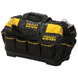 Stanley Hand Tools By Dewalt Fatmax® Plastic and Fabric Open Mouth Tool Bag in Yellow and Black S518150M