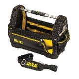 Stanley Hand Tools By Dewalt Open Tote in Black, Grey and Red S518160M