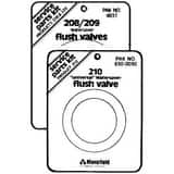 Mansfield Plumbing Products Watersaver Flush Valve Service Pack in Black M106304837