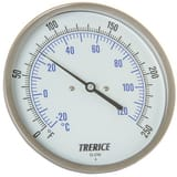 H.O. Trerice 20 to 240F Bimetal Thermometer Well TB8520405