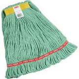 Rubbermaid Web Foot® 1 in. Cotton and Synthetic Yarn Blend Wet Mop in Green RFGA11106GR00
