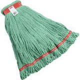 Rubbermaid Web Foot® 1 in. Cotton and Synthetic Yarn Blend Wet Mop in Green RFGA11306GR00