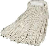 Rubbermaid 16 oz. Heavy Duty Cotton Mop in White RFGF16600WH00