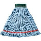 Rubbermaid Web Foot® 5 in. Cotton and Synthetic Yarn Blend Wet Mop in Blue RFGA25206BL00