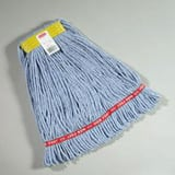 Rubbermaid Web Foot® 1 in. Cotton and Synthetic Yarn Blend Wet Mop in Blue RFGA11106BL00