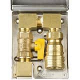 Burnaby 3/4 in. Stainless Steel Gas Outlet Box BBBQSS75