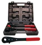 Reed Manufacturing Thru-Bolt™ 3 Tool Dual Socket Wrench Kit R02222 at Pollardwater