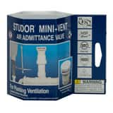 STUDOR® Mini-Vent® 1-1/2 - 2 in. 160 dfu PVC Air Vent in White I20305
