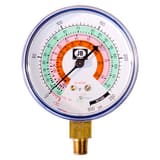 JB Industries 2-1/2 in. Compound Steel Case Pressure Gauge JM2460