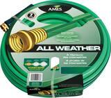 True Temper 5/8 in. X 100 Ft. Crushproof All Weather Medium Duty Hose In Green A4008000A