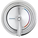 Speakman Sentinel Mark II® Anti-scald Balanced Pressure Valve with Wall Plate and Lever Handle Polished Chrome SSM3000