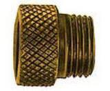 United Brass Works 1/2 x 3/4 in. Long Brass Sprinkler Head Extension U102