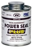 J.C. Whitlam Power Seal Plus 1 qt. PTFE Thread Seal Compound Twist Top in Arctic Blue WPOW32