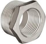 2 x 1/4 in. Threaded 150# 316 Stainless Steel Bushing IS6CTBKB