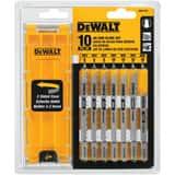 DEWALT Bimetal and High Carbon Steel T-Shank Jig Saw Blade Set 10 Piece DDW3741C