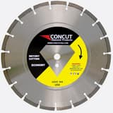 Concut Diamond Products 1 in. Segmented Concrete or Brick Blade CDMC2000S14