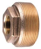 Ford Meter Box 3/4 x 2 in. FIP x MIP Water Service Brass Bushing FC1837NL