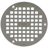 Zurn 5 x 4-3/5 in. Round Grid Strainer Nickel Bronze ZPN4005BSTR