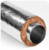 Quietflex Manufacturing Quietflex® 5 ft. R4.2 Duct Sleeve 7 in. Plastic QSS442