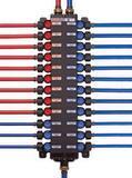 Viega ManaBloc® Model V5030.51 160 psi Polyalloy Crimp 3/8 x 1/2 in. Valve Manifold V50630