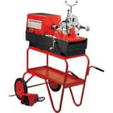 Rothenberger Open Wheel Stand with Tool Tray for Rhino P00551C Threading Machine R00548R