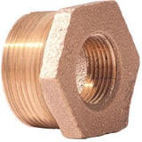 2-1/2 x 1 in. MNPT x FNPT Brass Bushing IBRLFBLG at Pollardwater