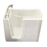 Safety Tubs 38 x 54 x 30 in. 65 gal Gelcoat Freestanding Walk-In Bathtub with Left Hand Drain SSS5430LS