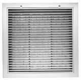 PROSELECT® 20 x 20 in. Fixed HB Insulation Filter Grill White PSFGFHBIW2020