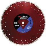 Concut Diamond Products 16 in. Cured Concrete Blade with Asphalt Overlay CPDSCOMBO16