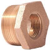 Merit Brass MNPT x FNPT Brass Reducing Bushing BRLFBD