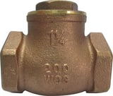 PROFLO® PFX31 125# Brass Threaded Swing Check Valve PFX31 at Pollardwater