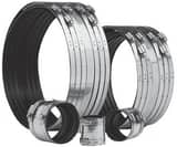 Clamp-All 4 in. Clamp 304L Stainless Steel Hubless Pipe Coupling CLA81040
