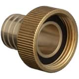 Qest 1 in. Swivel x Barbed Brass Adapter QQQSFC55GX