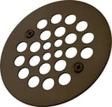 Monogram Brass® 4-1/4 in. OD Strainer with 2-5/8 in. Center to Center Screw Holes Polished Chrome MB139447