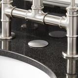 Signature Hardware Faucet Hole Cover Stainless Steel SH131SS