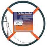 General Pipe Cleaners Flat Sewer Rod™ 100 ft. 3/4 in. Flat Sewer Tape with Roller G100D