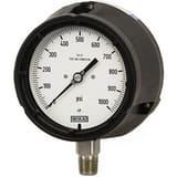 WIKA XSEL™ 4-1/2 in. Glycerin Filled Pressure Gauge W9833808 at Pollardwater
