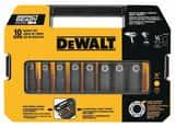 DEWALT 1/2 in. 10-Piece Driver Socket Set DDW22812 at Pollardwater