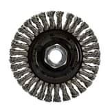 DEWALT 20000 RPM Stainless Steel Silver Brazing Wire Wheel DDW49204 at Pollardwater