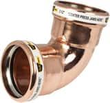 Copper Short Radius 90 Degree Elbow C9SRLFXP