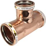 Apollo Xpress® 4 x 4 x 3 in. Reducing Wrot Copper Tee A10062076