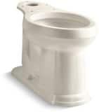 KOHLER Devonshire® 1.28 gpf Elongated Toilet Bowl in Almond K4397-47