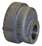 Threaded 125# Black Cast Iron Eccentric Reducer BCIER