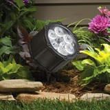 Kichler Lighting 8.5W 6-Light LED Landscape Light in Textured Black KK15742BKT