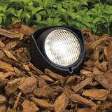 Kichler Lighting 50W 1-Light in Ground Landscape Accent Light in Black KK15488BK