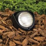 Kichler Lighting 50W 1-Light in Ground Landscape Accent Light in Black KK15488BK