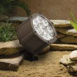 Kichler Lighting 9W 9-Light Landscape Accent Light in Textured Architectural Bronze KK15751AZT