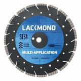Lackmond 16 in. Multi Application Wet or Dry Cut Blade LSTS4161251