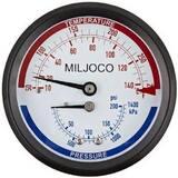 Miljoco 200 psi Temperature Pressure Gauge MPB300807250