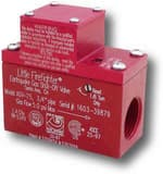 Little Firefighter 5 psi 90 Degree Gas Shut-Off Valve LNAGV